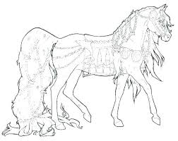 Baby Horse Coloring Pictures Cute Horse Coloring Pages Paint Horse
