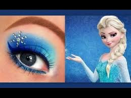 disney s frozen elsa inspired makeup tutorial