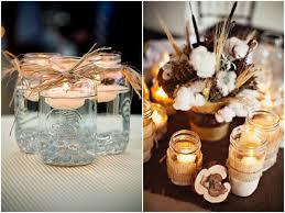 Table Decorations Using Mason Jars Mason Jar Lanterns and Candle Holders For Magical Weddings 4