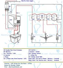 house wiring diagram in electrical best of simple circuit inside for single phase wiring diagram pdf ups inverter wiring diagram for one room office electrical with single phase house