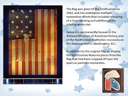 Image result for Flag that flew over Fort McHenry