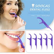 <b>SOOCAS</b> Professional Cleaning <b>Dental Floss 50pcs</b>/Box from ...
