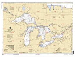Great Lakes Navigation Charts Best Picture Of Chart