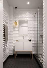 lighting ideas for bathroom. Innovative Bathroom Remodeling Ideas Using Fireplace, Lighting And Nice Tiles Elegant White Brick Wall For