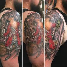 Tbt October 2018 Pirate Themed Lechuck Inspired First Tattoo Two X