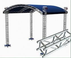 diy portable stage small stage lighting truss. Small Stage Lighting Truss Spigot Concert Roof Diy Portable