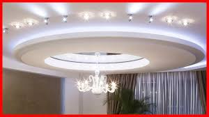 latest gypsum ceiling for living room