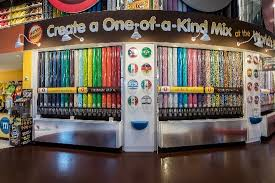 Vending Machine Restaurant Nyc Magnificent The Chocolate Wall Picture Of MM'S World New York New York City