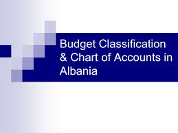 Budget Classification Chart Of Accounts In Albania Ppt