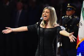 React to Fergie Singing National Anthem