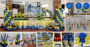 Minions Despicable Me Balloon Decor & Party Supplies at Maria Lina