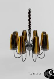 chandelier carlesso honey s8