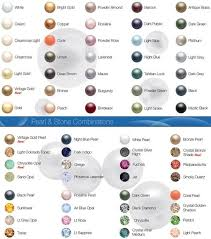 Pearl Color Chart Swarovski Crystal Pearl Colour Chart Swarovski Crystals