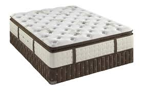 Full Size of Furniture:stearns Foster Blisswood Luxury Firm Euro Pillow Top  Mattress With Headboards ...