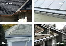 steel roof gutter gutter helmet may be installed on almost all roofing types including cedar shake steel roof