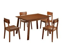 Boraam Zebra Series Hagen Dining Chairs Set Of  Walnut - Walnut dining room furniture