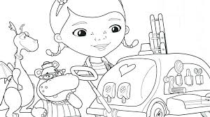 Free Doc Mcstuffins Coloring Pages Free Printable Doc Coloring Pages