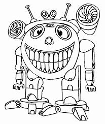 Kleurplaat Robot Beste Van Robot Kleurplaten Eenvoudig Kleurplaat
