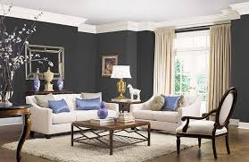 decor paint colors for home interiors. Modren Interiors A Room Painted In Olympic Black Magic OL116 Interior Paint To Decor Paint Colors For Home Interiors