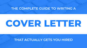 how to write a job winning cover letter