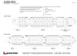 A380 Seat Map Qantas Elcho Table
