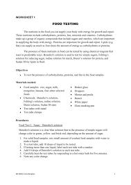 food test 1 sulartobiologi