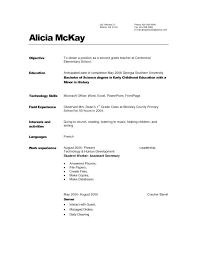 Child Care Resume Sample The Elegant Child Care Resume Objective ...