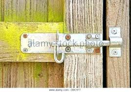 garden gate security locks for a wooden weathered bolt on wood latch lock fence