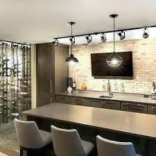modern basement bar ideas. Plain Ideas Small Basement Bar Ideas Cabinets Design  Contemporary With Track Lighting  Throughout Modern