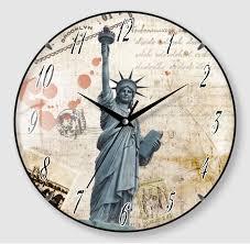 Futuristic Clock Round Vaulted Glass Cover Clock