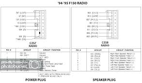 ford f factory wiring plug switch trailer wiring diagrams com 7 wire ford