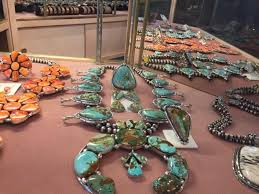 a photo on the facebook page for al zuni global jewelry whole which stands accused