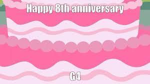 1843030 Animated Anniversary Artistagrol Cake Edit Food G4