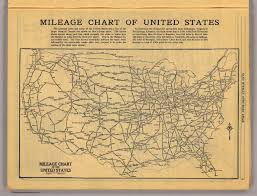 Distance Chart Us Us Map Mileage Us Free Download Printable Image Database