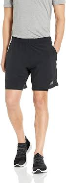 New Balance Men's <b>Fortitech 7 Inch 2-in-1 Short</b> Shorts: Amazon.co ...