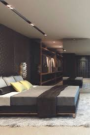 Bedroom: Dark And Masculine Bachelor Pad Bedroom Decor - Bachelor Pad Ideas