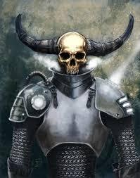 ArtStation - Horned Skull Knight, Jan Duursema