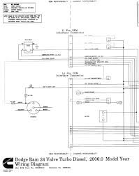 ecm details for 1998 2002 dodge ram trucks 24 valve cummins 2000 isb ram diagram left half right half
