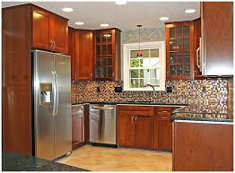 kitchen design for small kitchen. design for kitchen cabinets, brown rectangle contemporary wooden cabinet ideas small kitchens varnished