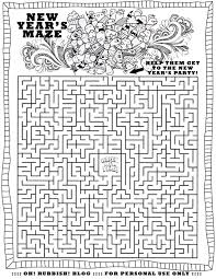 Happy New Year Maze By Oh