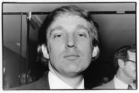 Image result for young donald trump