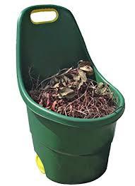 garden bucket. Faithfull Garden Cart/Bucket With Wheels 48 Litre Bucket