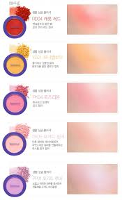 <b>Однотонные румяна The Saem Saemmul Single</b> Blusher Violet ...