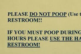 bathrooms signs. Bathrooms Signs