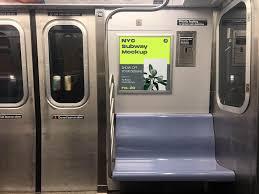 Nyc Subway Ad Mockup Ad Affiliate Advertise Showcase