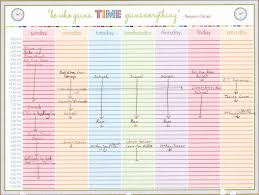 Weekly Calendar With Times Template Printable Calendar With Times Weekly Calendar With Time