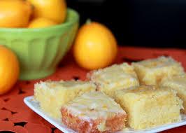 Meyer Lemon Cake Bars Kitchen Treaty