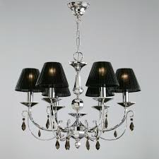 terrific lamp shade chandelier beautiful candle light with black shade of plastic