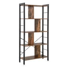 Portable Furniture Design Vasagle Design Portable Modern Furniture Large Tall Bookcase 4 Tiers Industrial Metal Ladder Book Shelf Wooden For Living Room Buy Book Shelf Book
