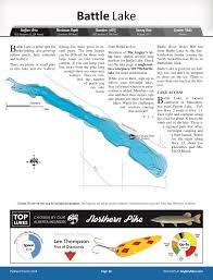 Battle Lake Alberta Anglers Atlas